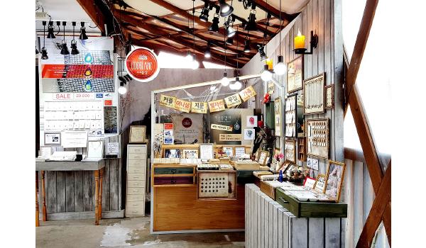 日本民営番組でも紹介されたオッドブランの作業室