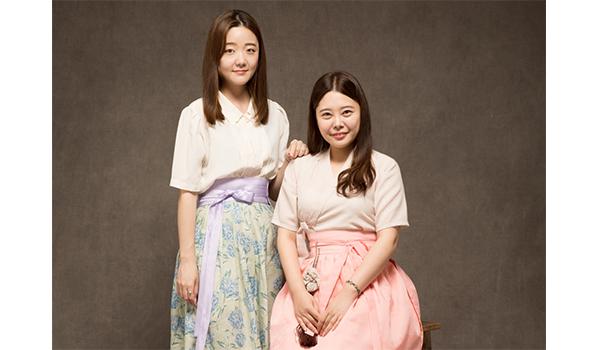 ダハムの共同CEOペク•ヨジン(左)ペク•ダハミ氏(右)