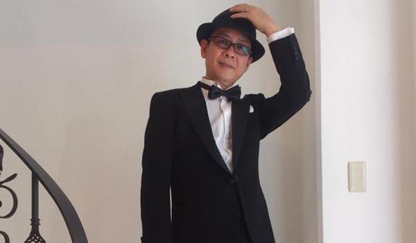 山寺宏一さんのタキシード