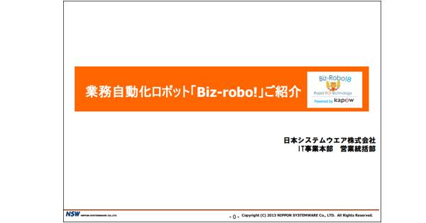 Biz-Robo!(カスタマイズ)