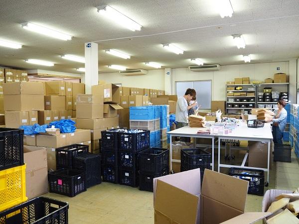 当事者意識が反映される出荷業務の現場風景