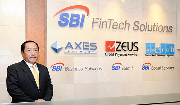 SBI FinTech Solutions株式会社 代表取締役社長 三文字 正孝氏