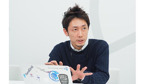 ビジネス開発部 データベース事業グループ 兼 営業部 マネージャー 八重柏 匡史氏