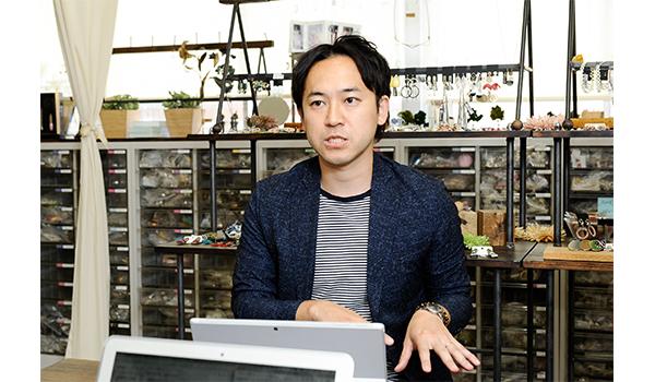 GIVE&GIVE株式会社 代表取締役 松原吉輝氏